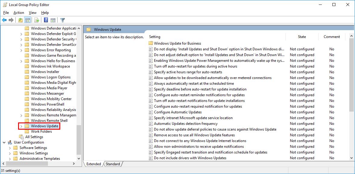 Tutorial: Windows 10 - Disable Automatic Updates - Bennet Richter